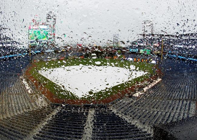 Marlins at Phillies postponed by rain Tuesday