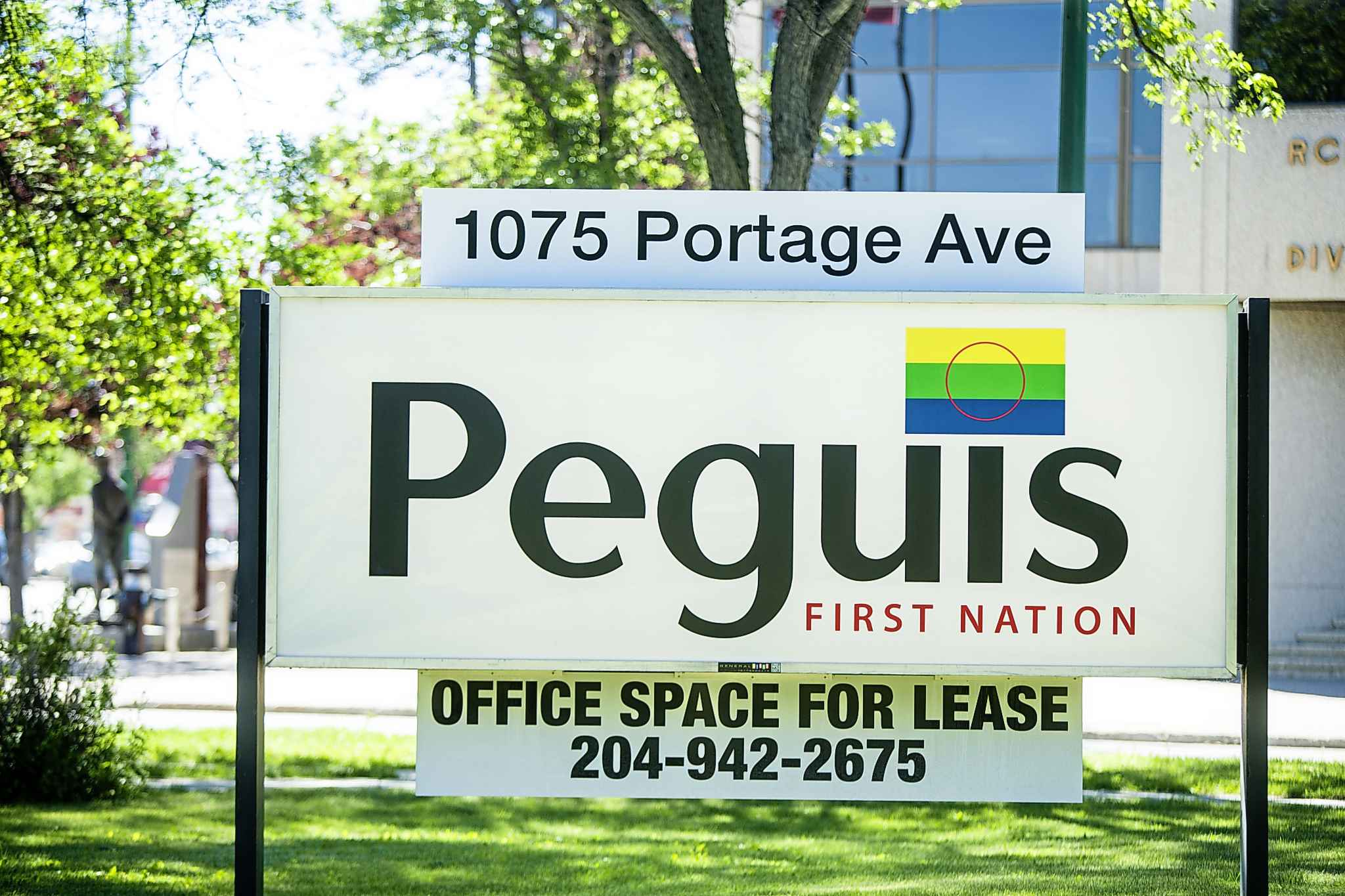 Peguis has invested in 1075 Portage Ave. by renovating it, and bringing in tenants, resulting in jobs and money for the city.