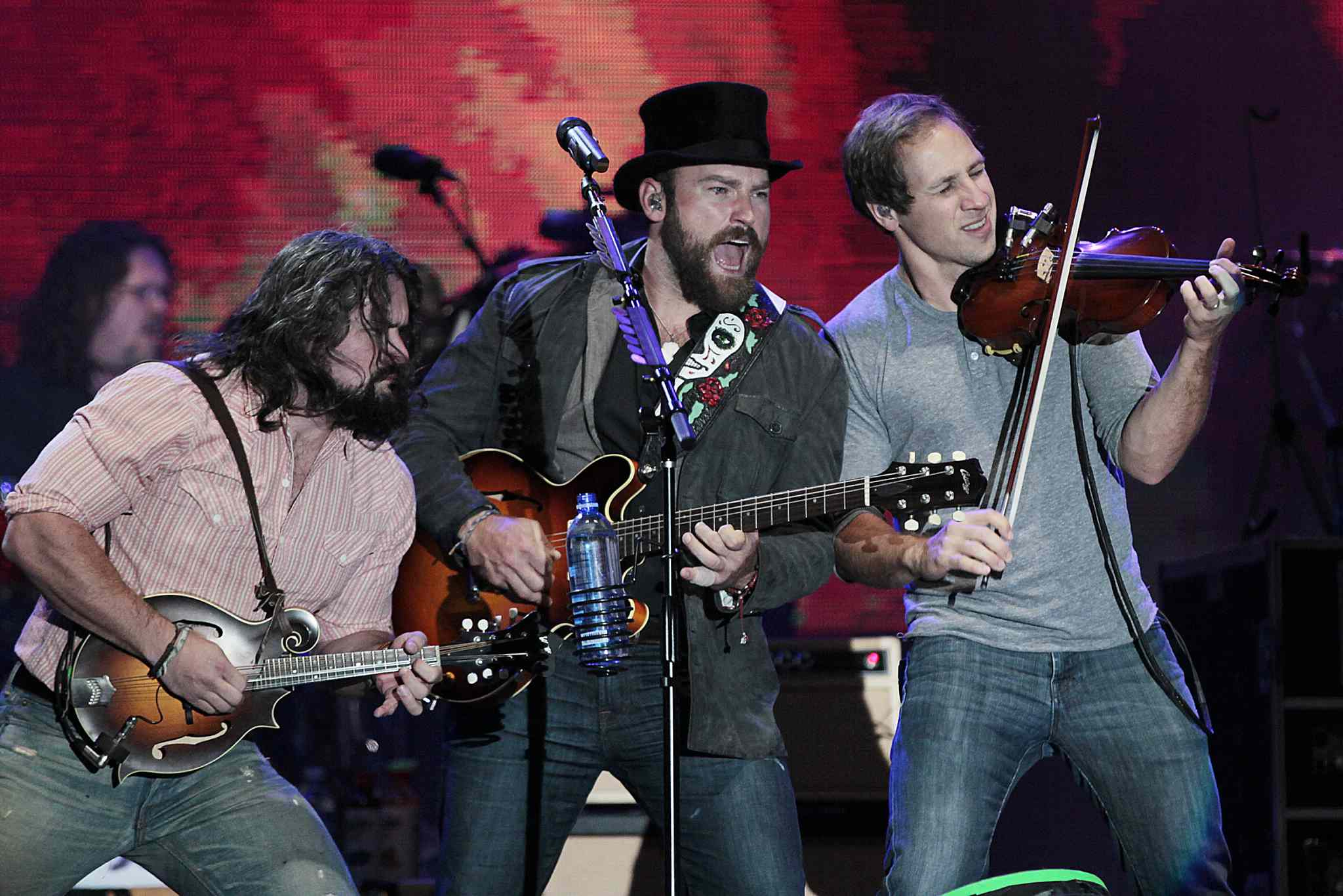 Zac Brown Band performs at Prairie Jam.