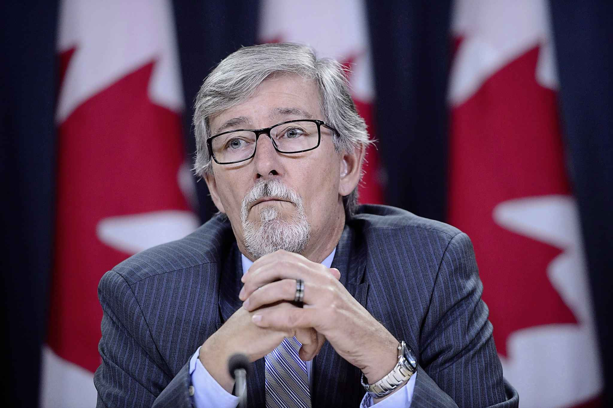 Privacy Commissioner Daniel Therrien was called upon to look into whether Ottawa breached its own laws regarding Glenn Joyal's rights to confidentiality.