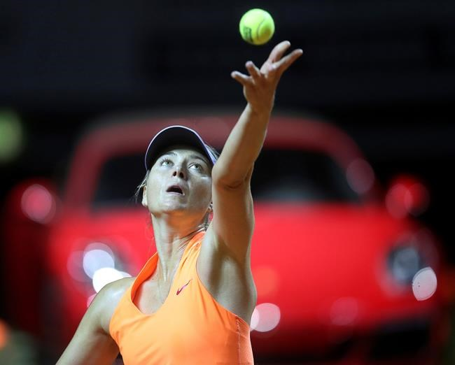 Sharapova responds to Bouchard's 'cheater' claims: I am way above that
