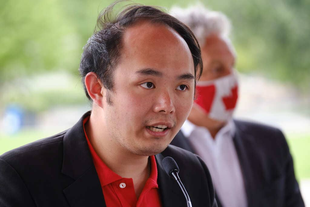 Liberal candidate for Winnipeg Centre, Paul Ong.