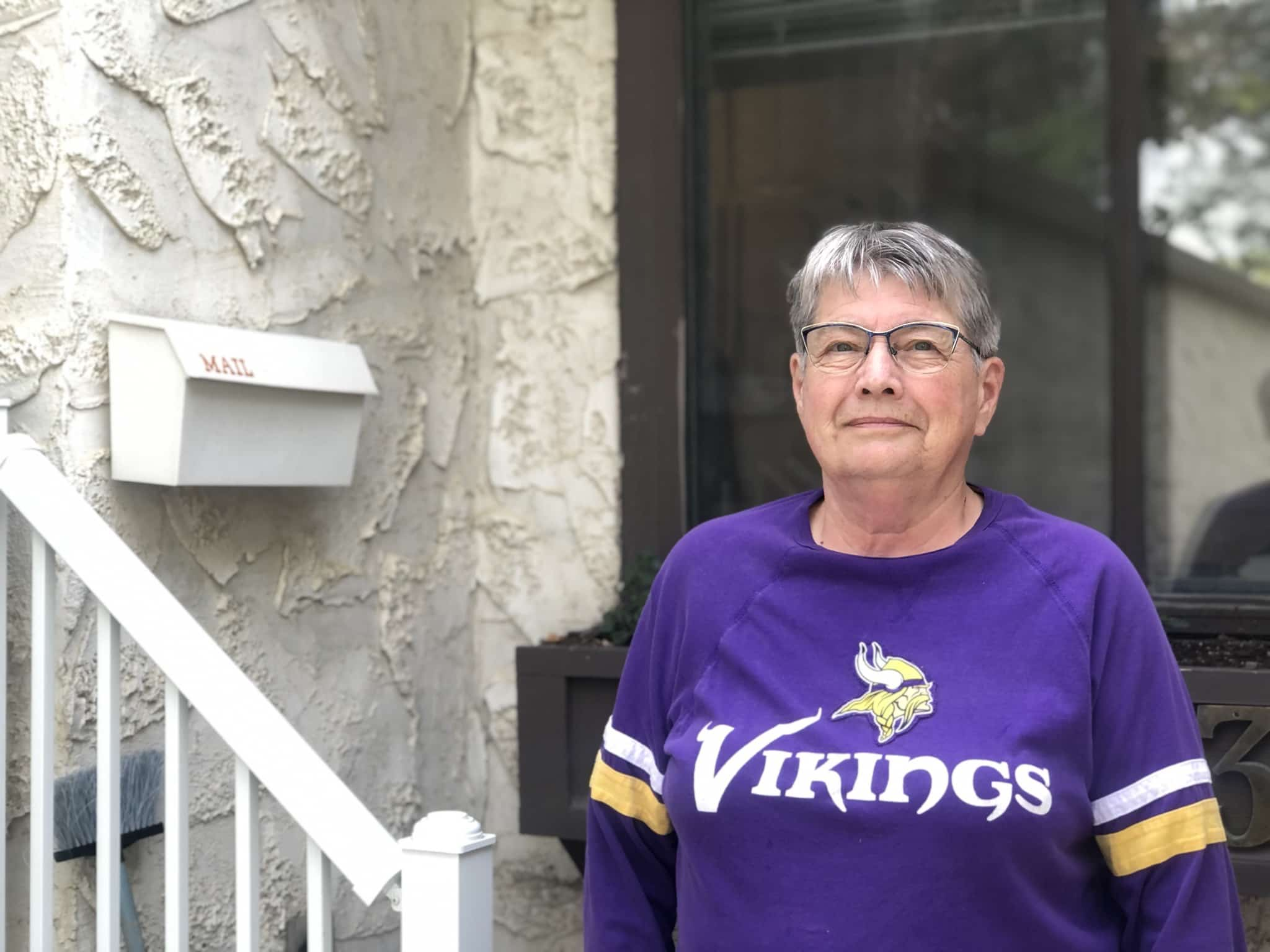 Regina-Wascana resident Linda Anderson laments a third-party funded effort that helped end Ralph Goodale's 26 years as Liberal MP for the riding. (Dylan Robertson / Winnipeg Free Press)