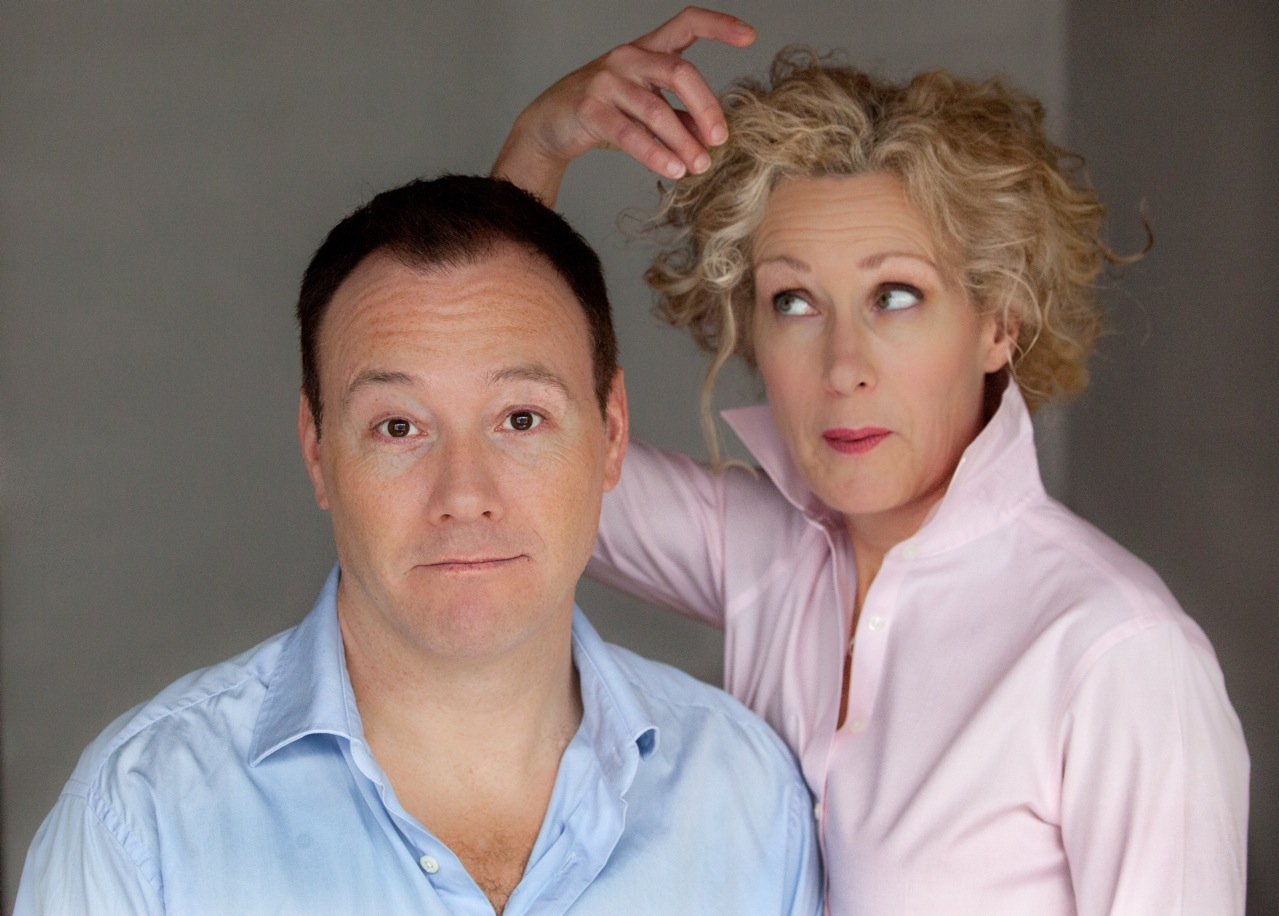 Toronto's Brad Hampton and Patti Loach created the theatrical cabaret The Picture of Happiness.