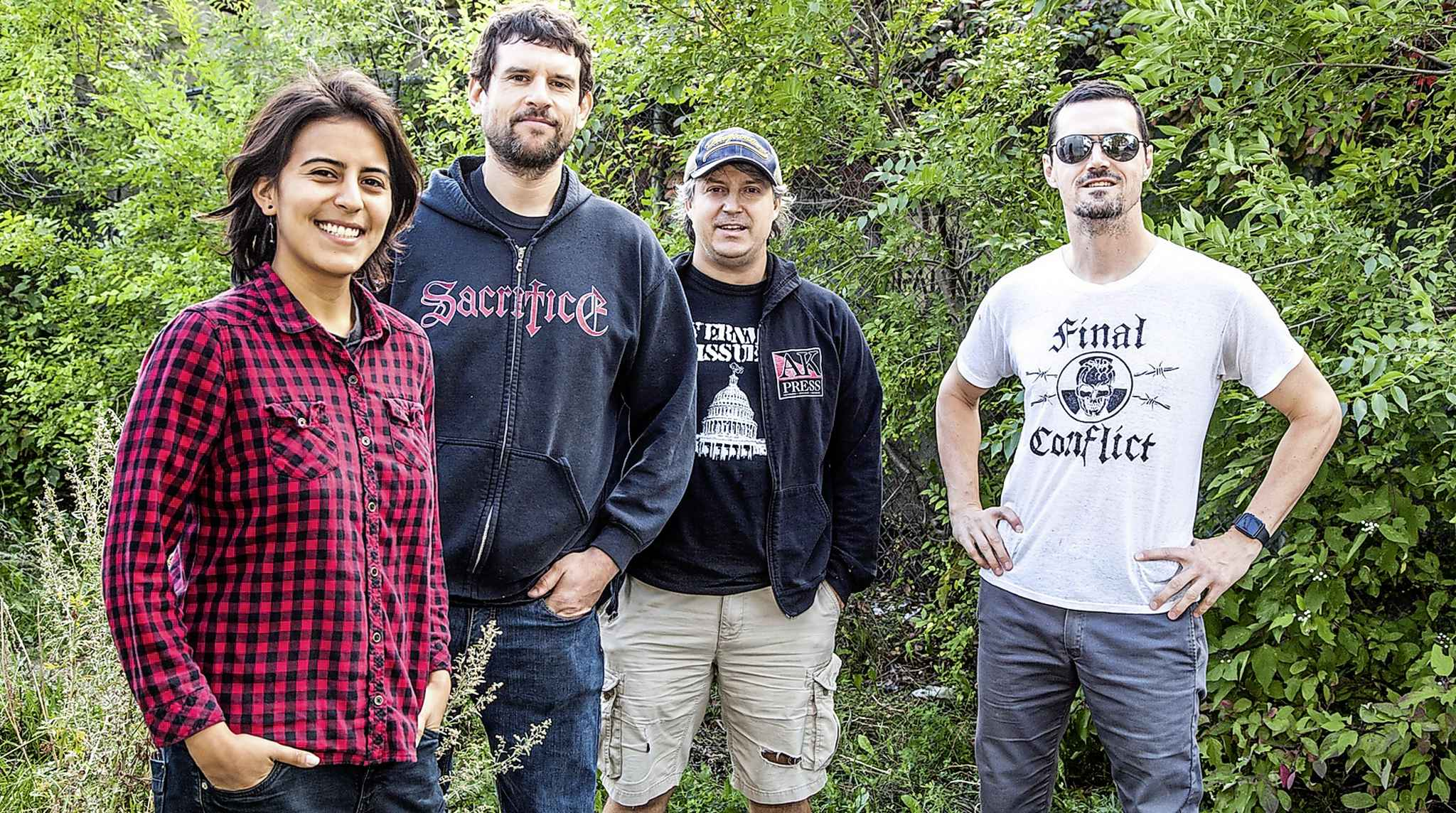 The Park Theatre renovations, which include a wheelchair ramp, are scheduled to be completed in time for a Friday concert with Propagandhi. (Mike Sudoma / Winnipeg Free Press)
