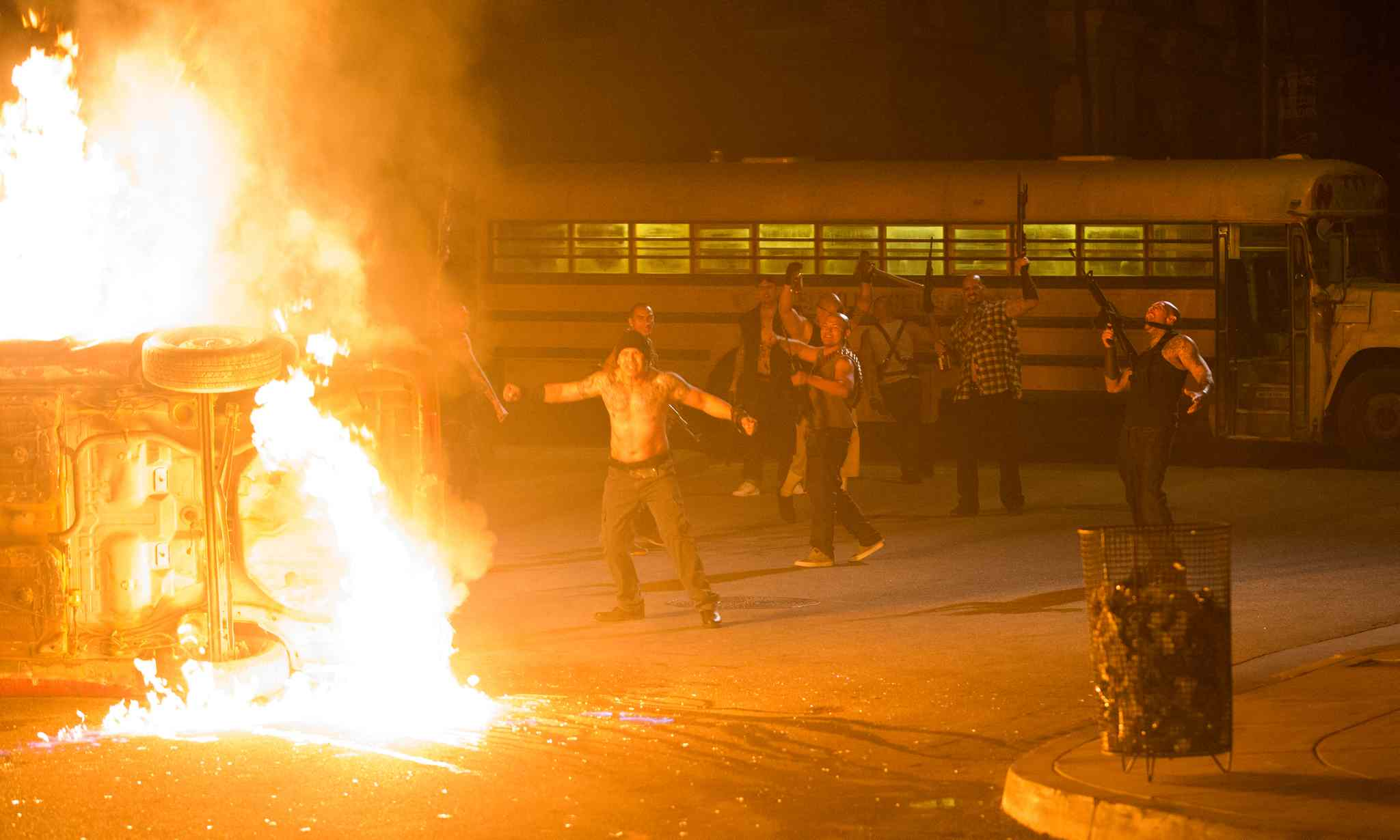 Violence still rules in sequel to The Purge, but original's message has been purged.