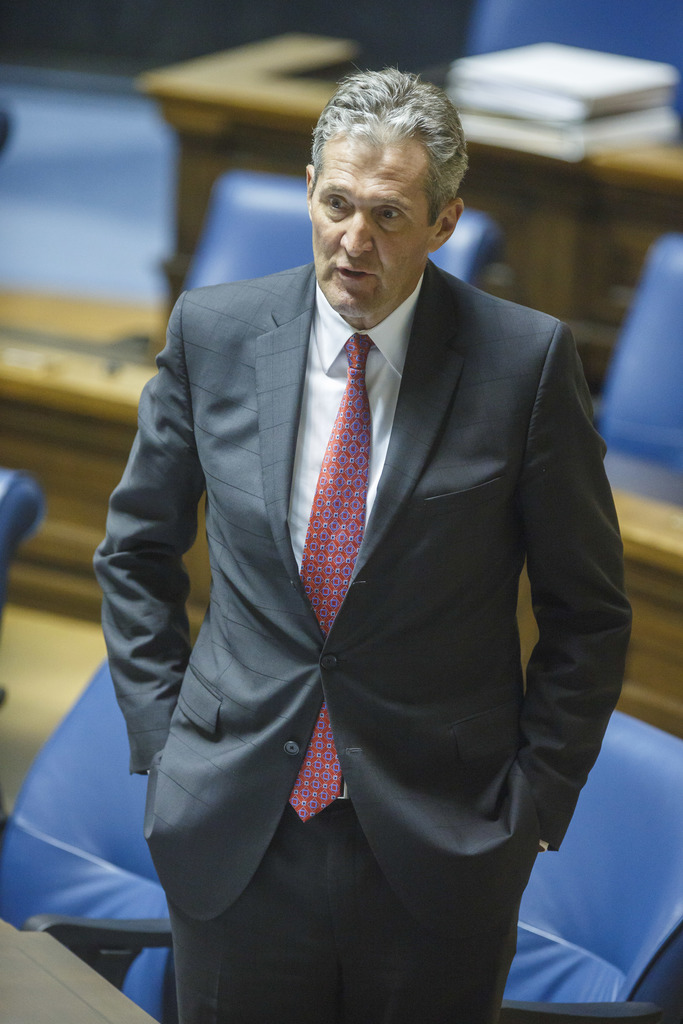Manitoba Premier Brian Pallister is taking a different approach, slashing spending.