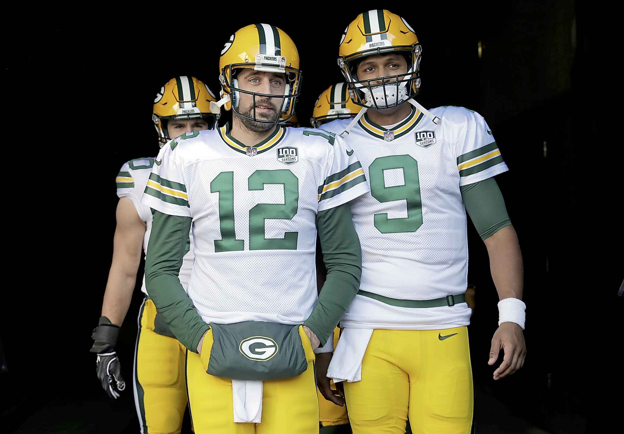 As a Week 3 pre-season NFL game, there's a good chance the teams' regular players, such as Packers quarterback Aaron Rodgers, above, will get some significant playing time.