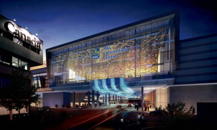 What the RBC Convention Centre Winnipeg should eventually look like.