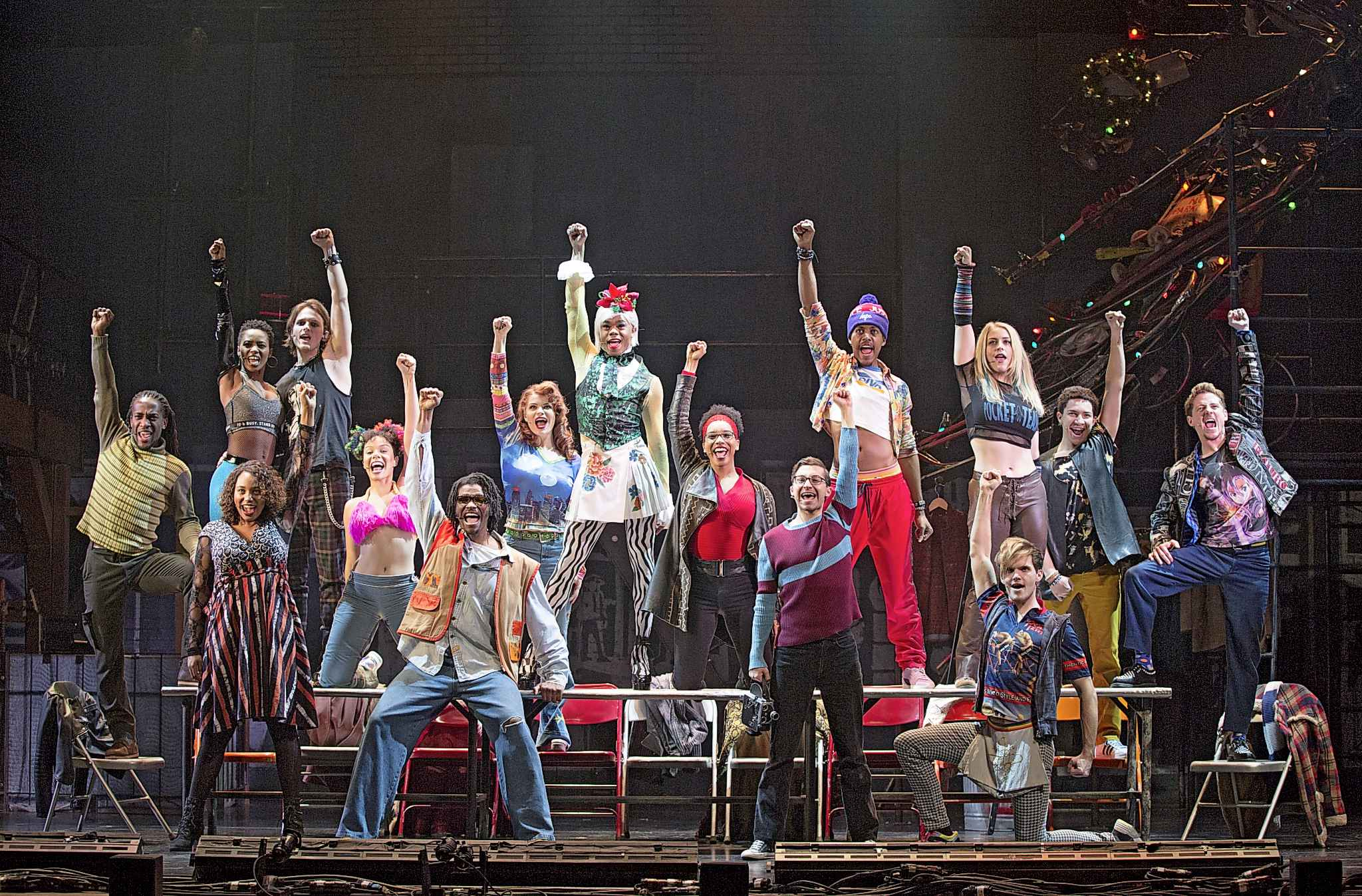 Rent maintains its iconic status in popular culture, a status that's most apparent in its enormously devoted fanbase of Rentheads. (Carol Rosegg photo)