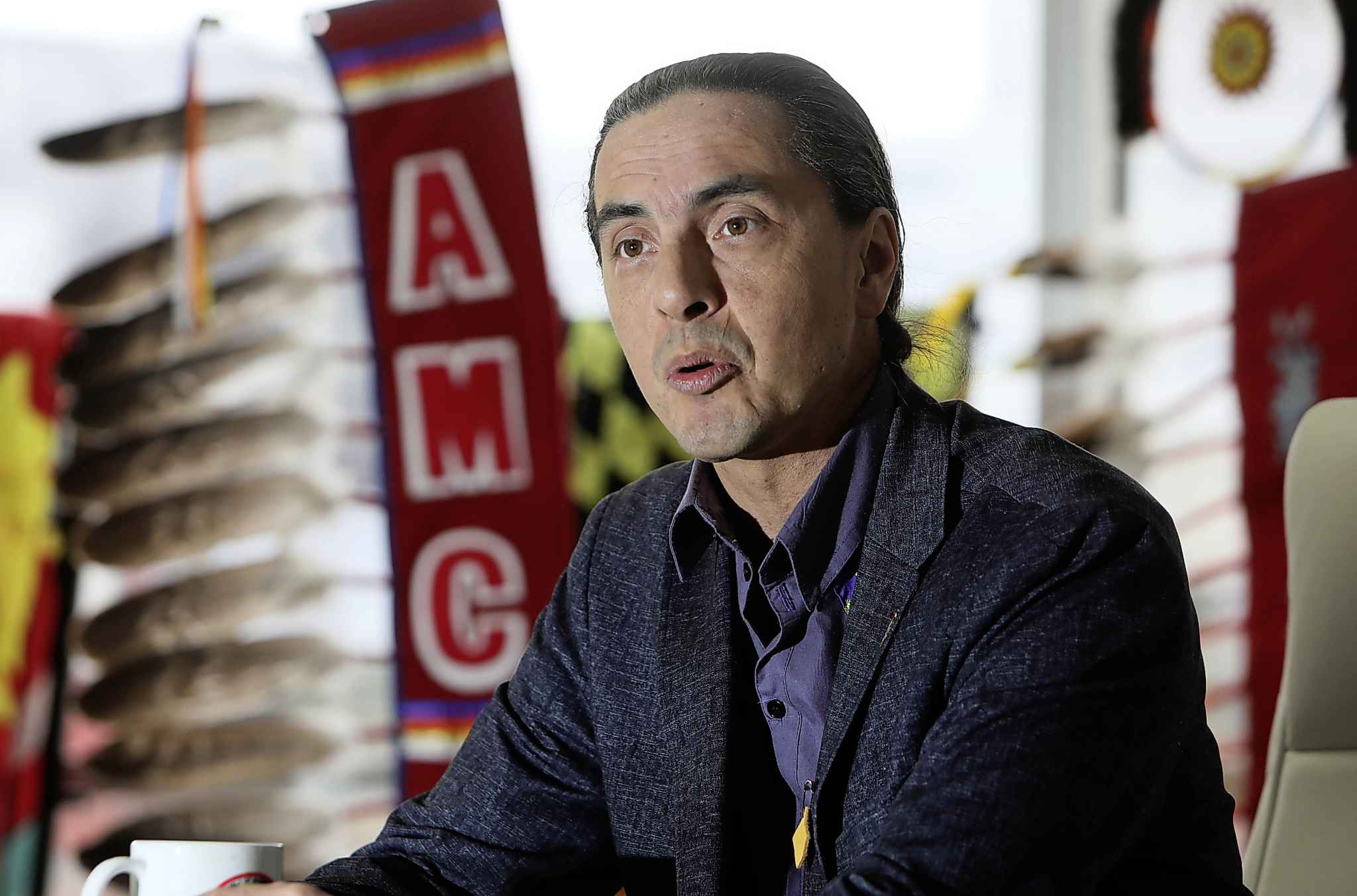AMC Grand Chief Arlen Dumas: 'Societies are judged by how the less fortunate are treated.'