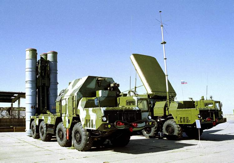 In this undated file photo a Russian S-300 anti-aircraft missile system is on display in an undisclosed location in Russia. Russia's Deputy Foreign Minister Sergei Ryabkov said Tuesday that Moscow has a contract for the delivery of the S-300s to Syria and sees the deal as a key deterrent against foreign invasion in that country.