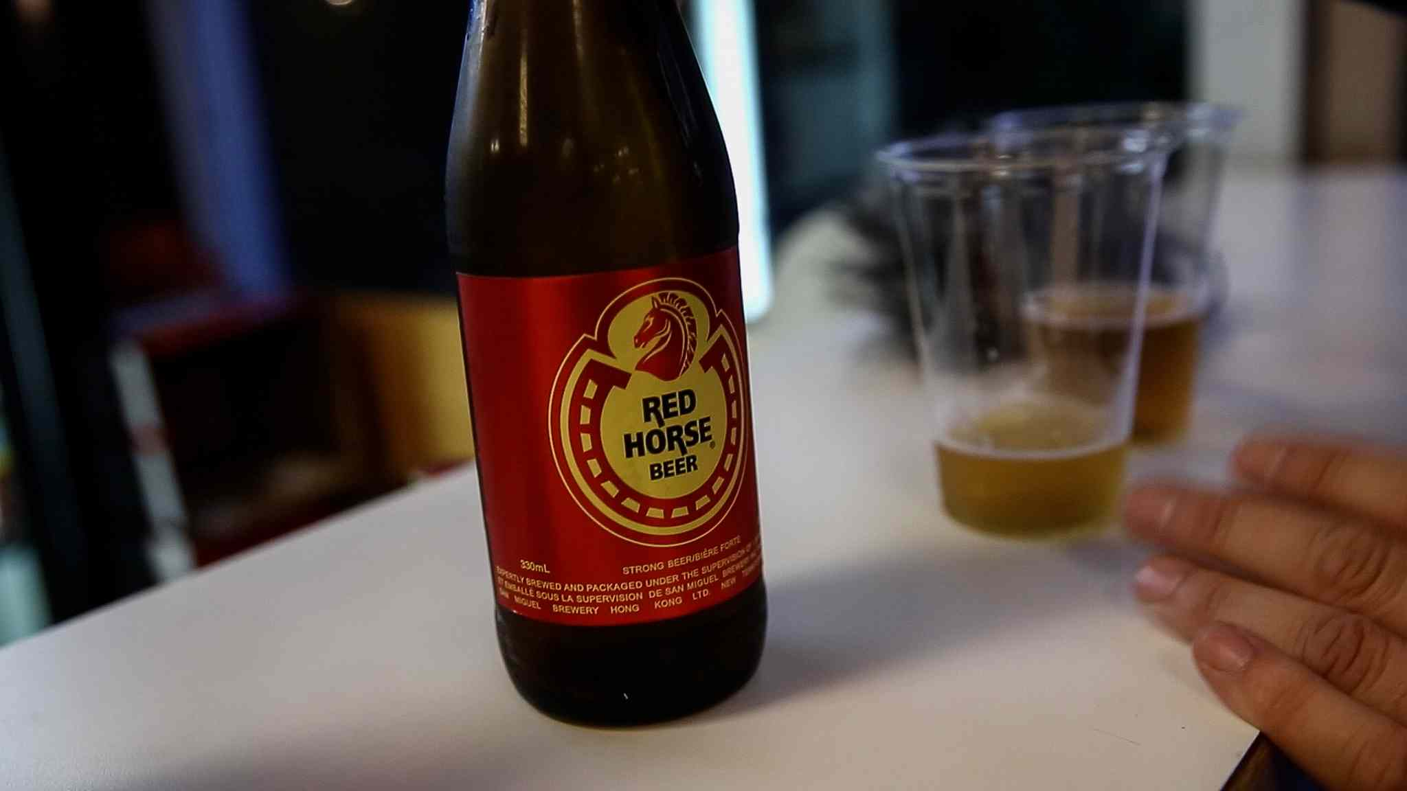 MIKE DEAL / WINNIPEG FREE PRESS </p><P>A bottle of Red Horse.
