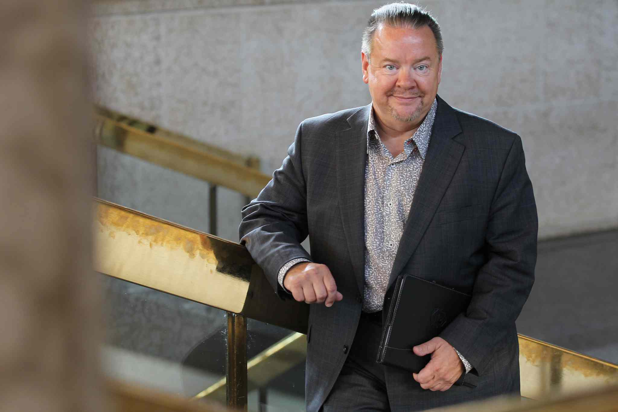 """I was very impressed with the level of education I received during that time and strongly believe it greatly influenced my life, especially my educational pursuits,"" says Winnipeg city clerk Richard Kachur."