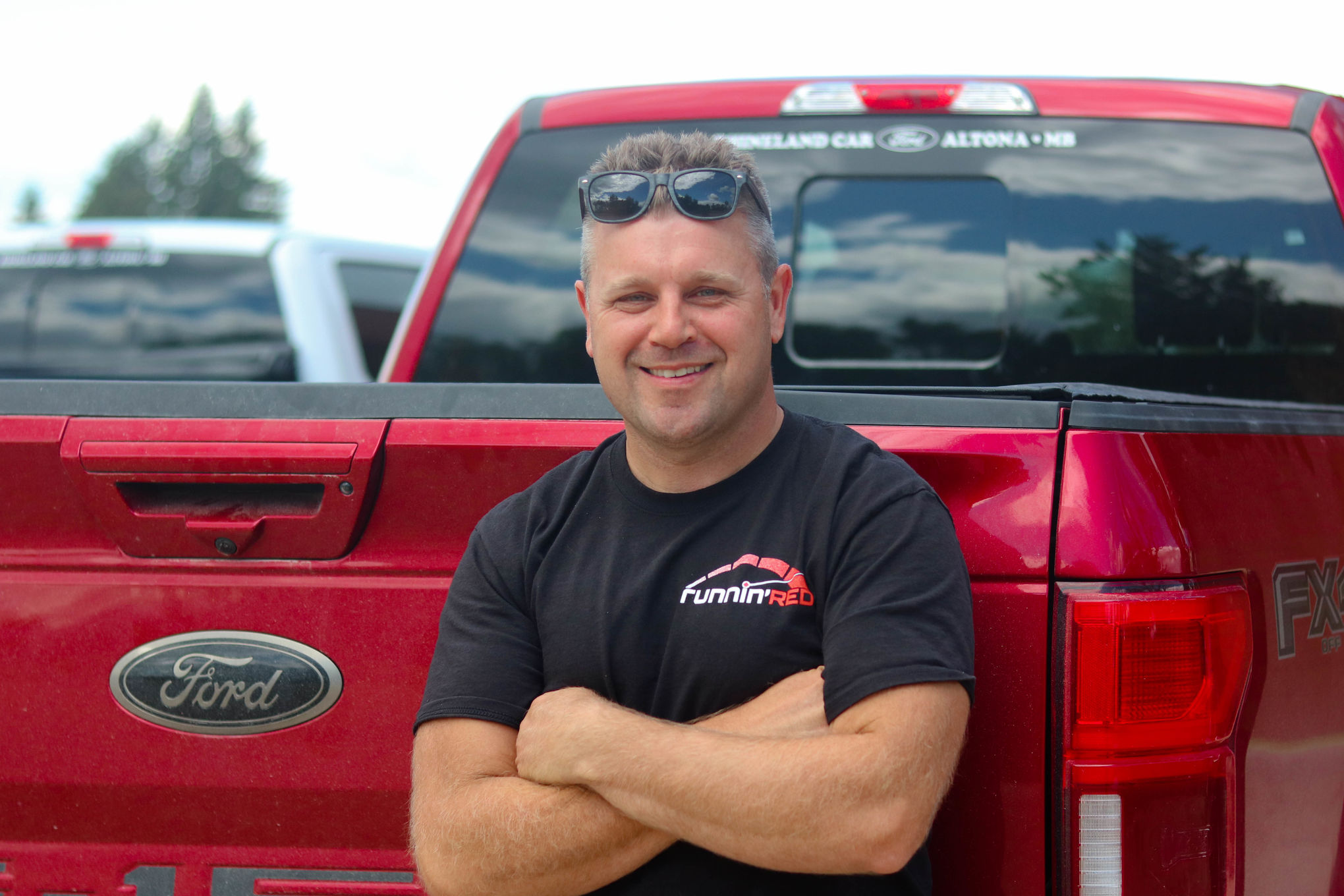 Jeff French from Runnin' Red Transport has been working around to clock to deliver packages to Manitobans that wouldn't make it otherwise due to restrictions on cross-border commerce. The U.S-Canada border has been closed since March and will remain shuttered to non-essential travel until August 21.