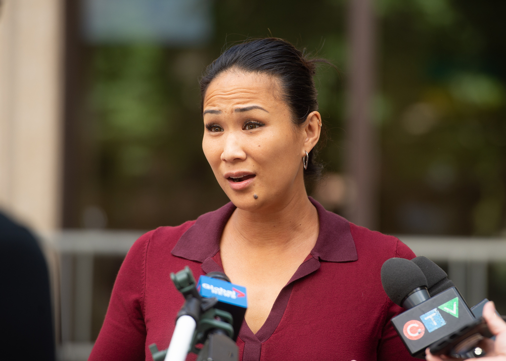 Coun. Vivian Santos was denied the necessary clearance to join the police board.