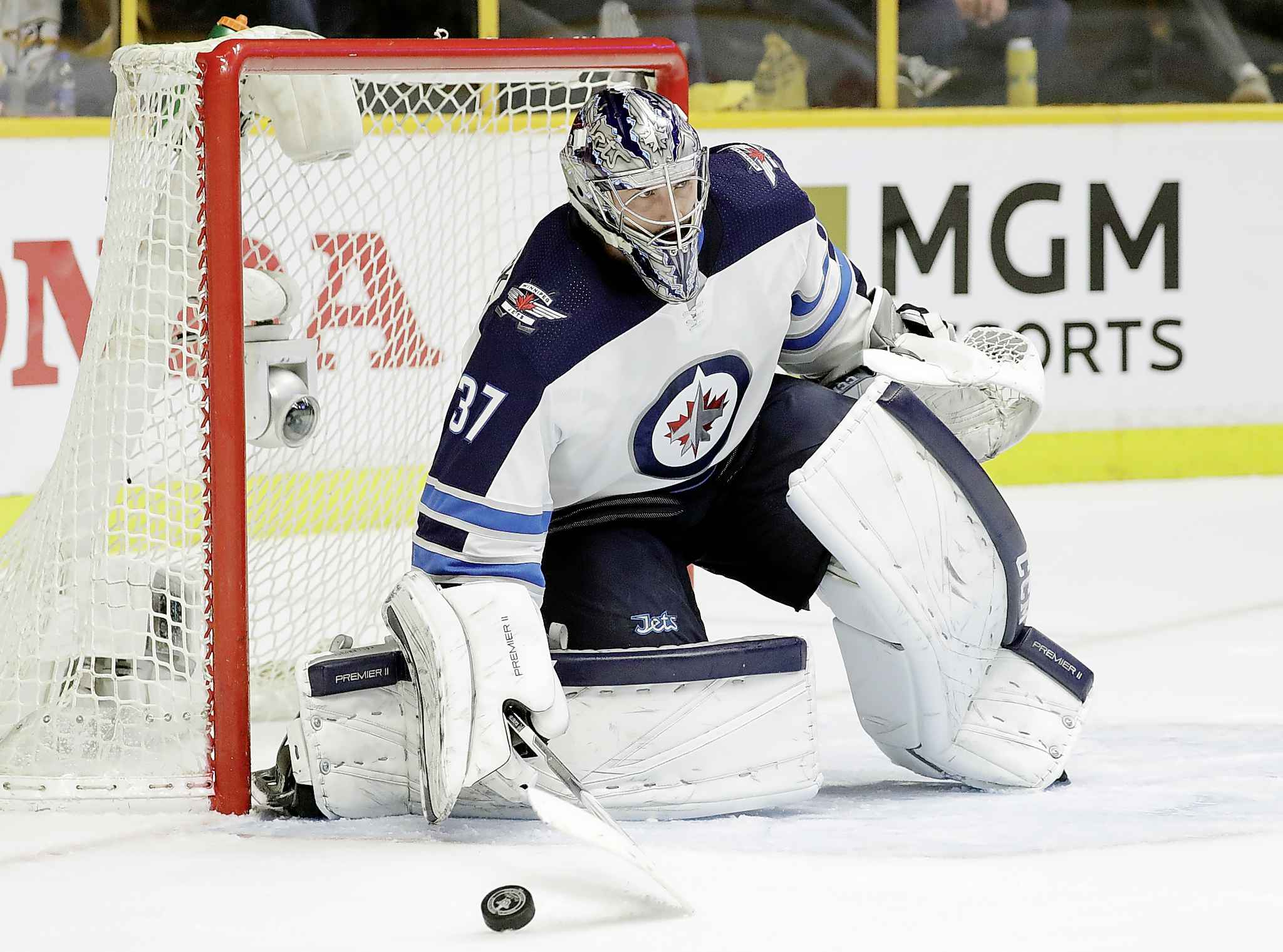 Jets goalie Connor Hellebuyck is also a restricted free agent that has filed for salary arbitration.