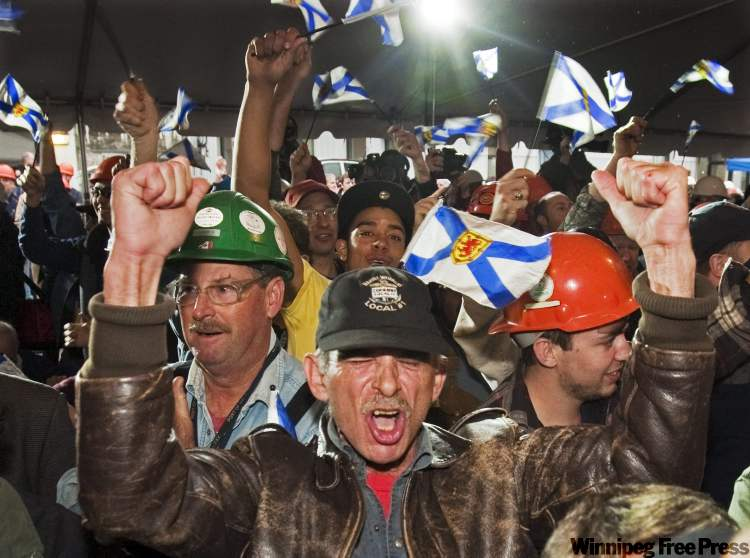 Halifax Shipyard workers react to news of a contract to build 21 Canadian combat ships.