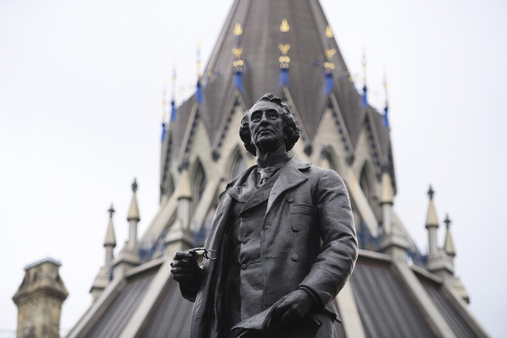 Former Canadian Prime Minister Sir John A. Macdonald called Indigenous people savages. (Sean Kilpatrick / The Canadian Press files)