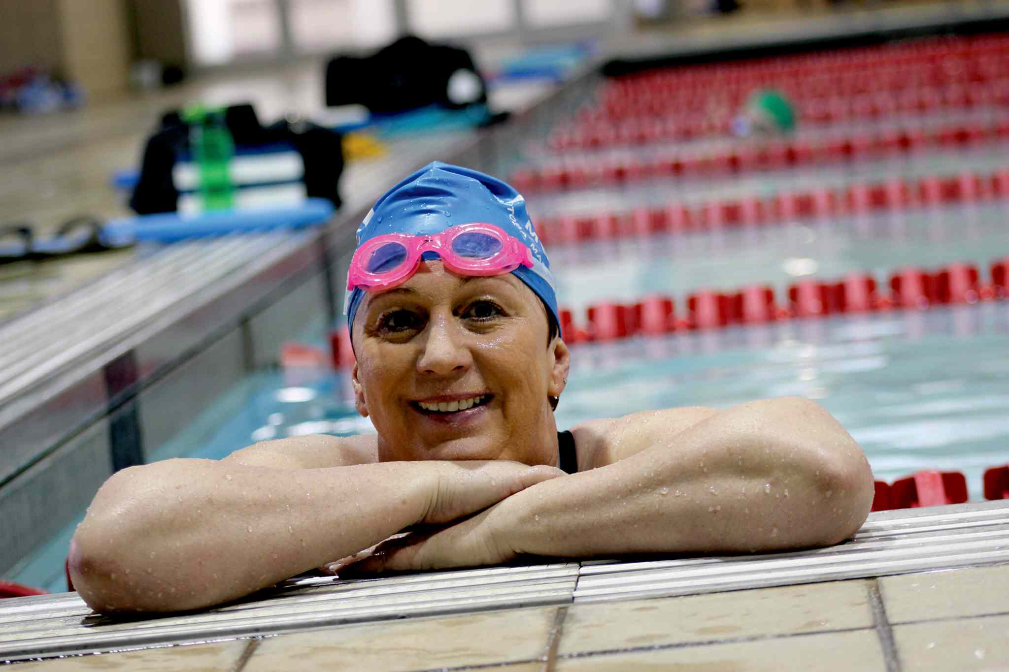 Leah Barnlund, 56, of Fort Garry, will be competing in the 15th annual FINA World Masters Championships this July in Montreal, Que.