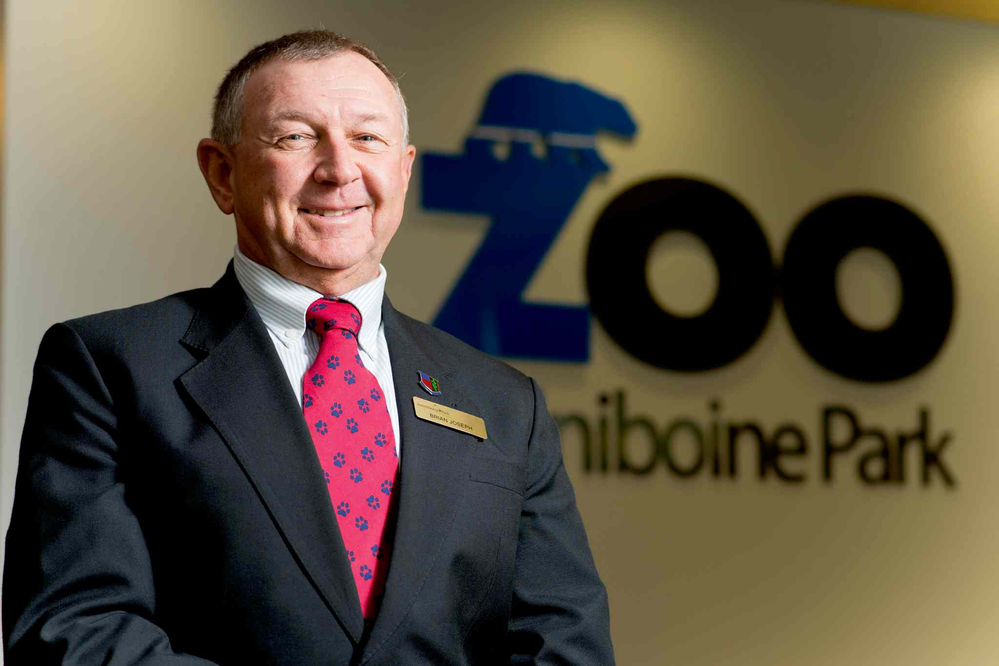 Dr. Brian Joseph is the new director of the zoological operations at the Assiniboine Park Zoo.