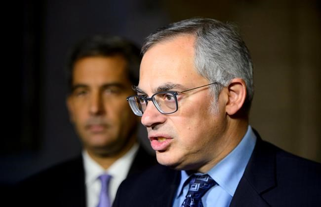 Conservative Shadow Minister for Justice Tony Clement. THE CANADIAN PRESS/Sean Kilpatrick