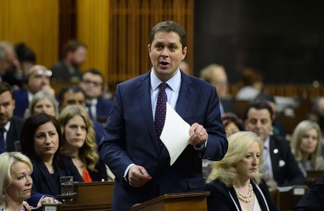 Conservative Leader Andrew Scheer will release his climate plan next month. (Sean Kilpatrick / The Canadian Press)