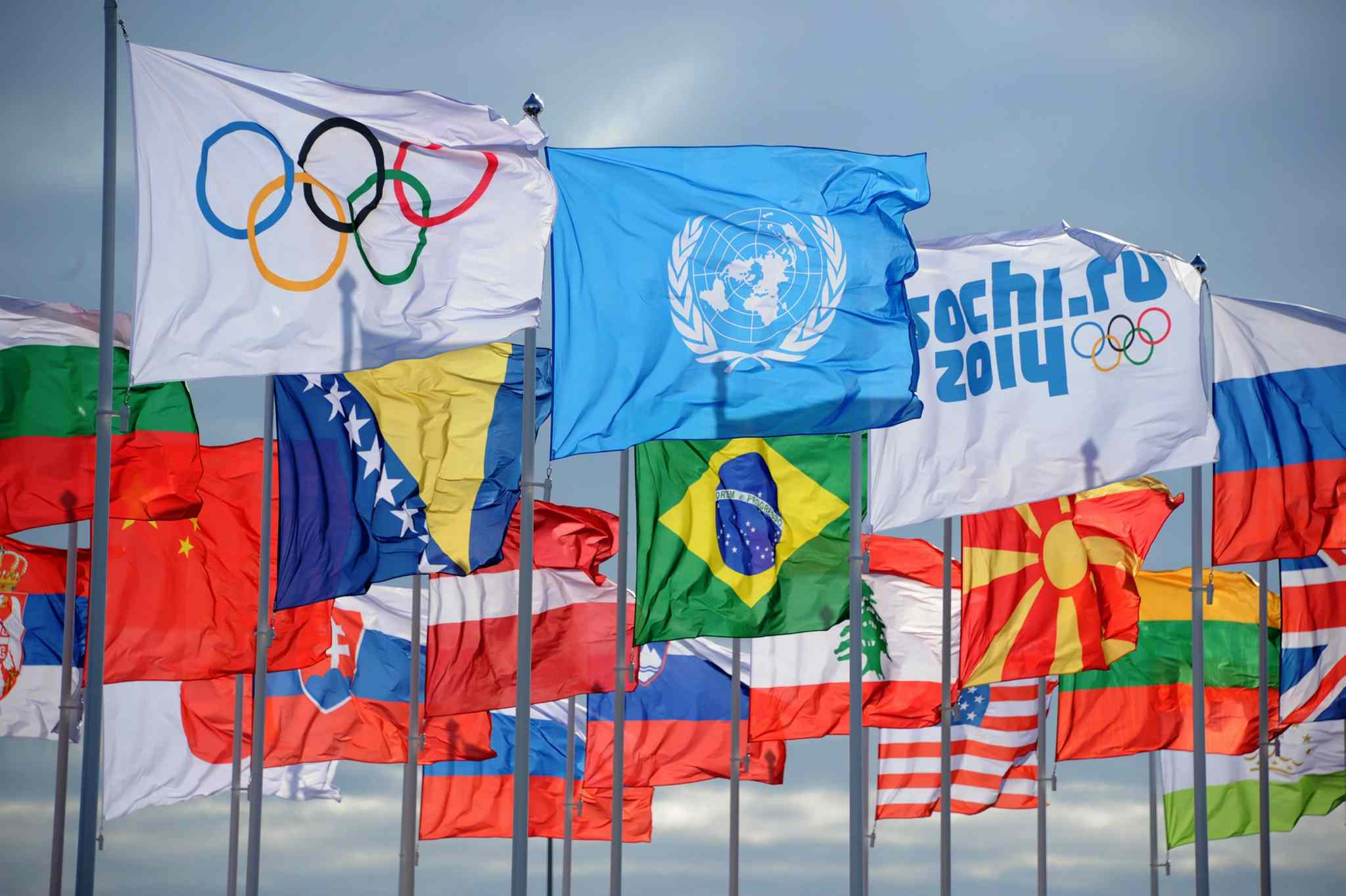 How many athletes in olympics by country
