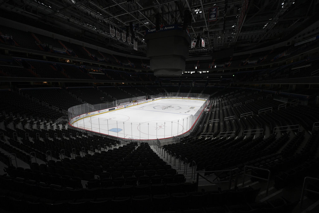Any NHL games that are played this season will be done in front of empty arenas.