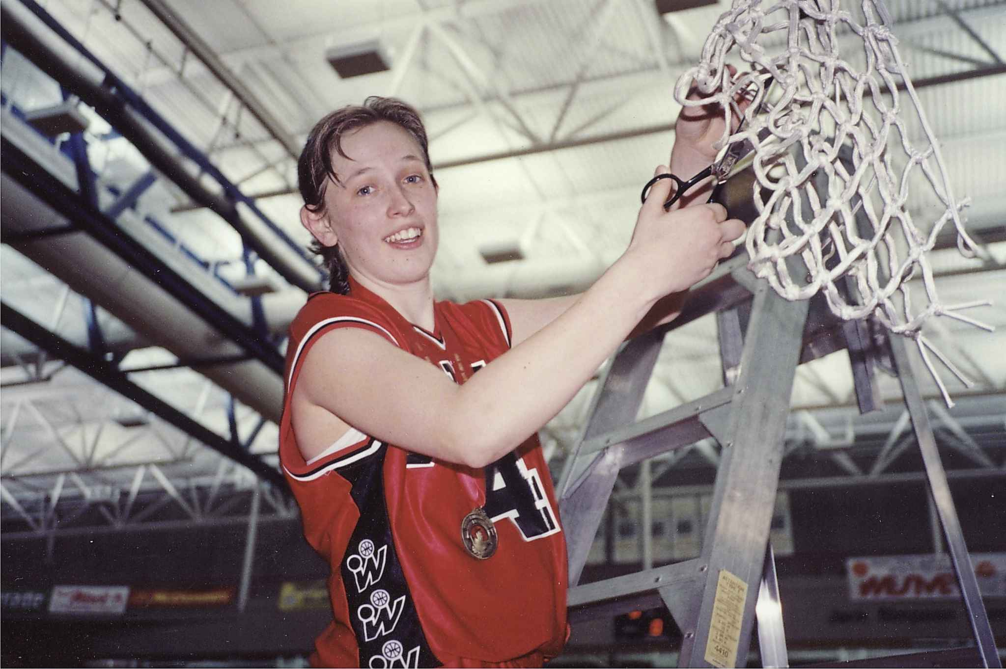 Sandra Carroll was named the CIAU Player of the Year for three consecutive years from 1993-95.