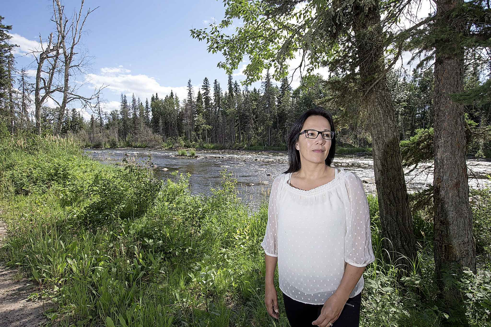 Chief Tammy Cook-Searson of the Lac La Ronge Indian Band is throwing her hat into the ring to seek the Liberal nomination in the northern Saskatchewan riding of Desnethé-Missinippi-Churchill River. (Liam Richards / The Canadian Press files)
