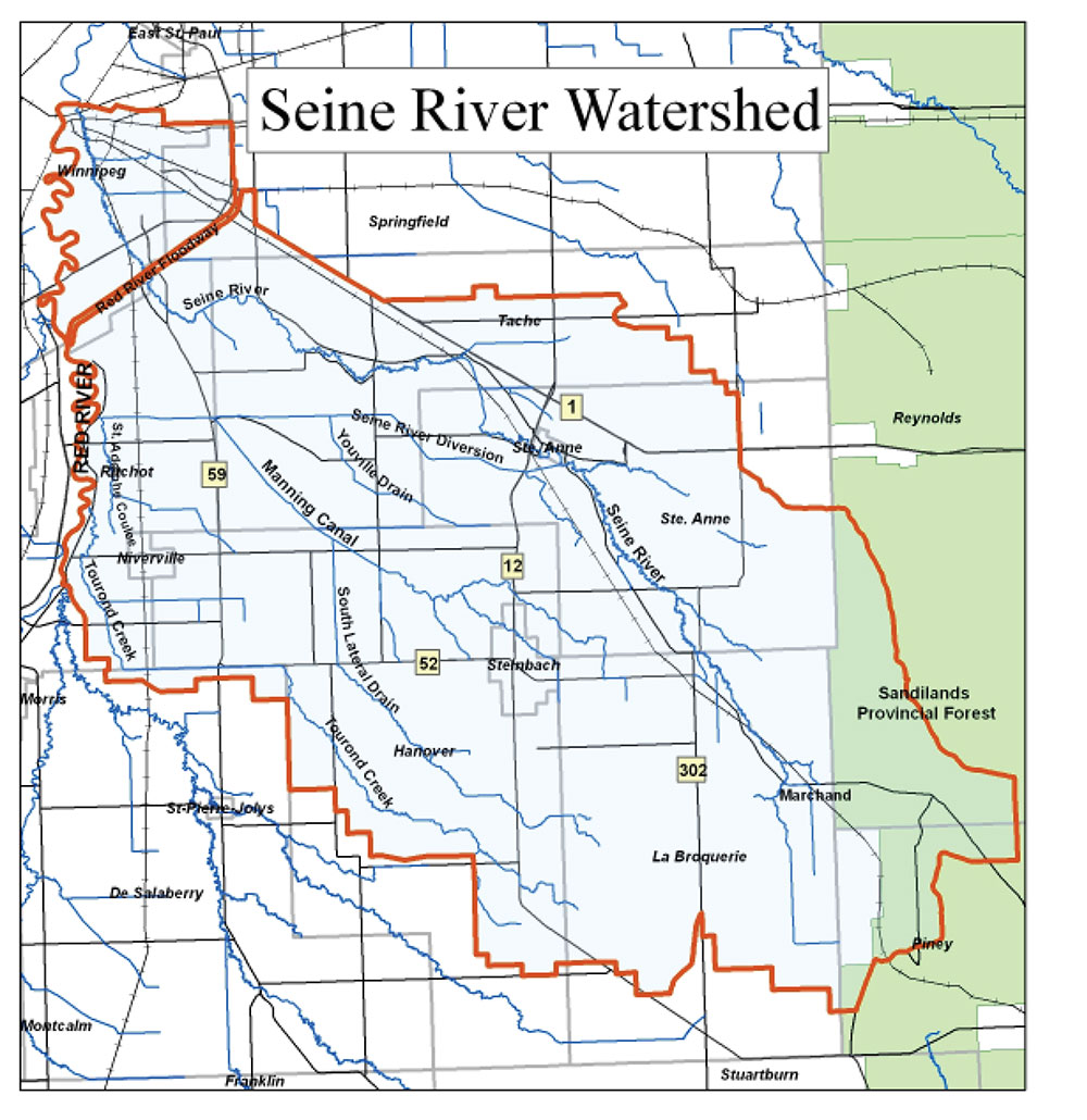 In 2019, the Seine Rat Roseau Watershed District became one of the first recipients of provincial funding provided through the Conservation Trust and the Growing Outcomes in Watersheds Trust (GROW).