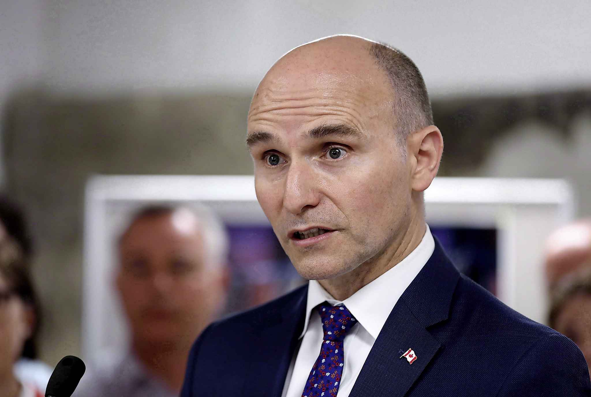 Federal Minister of Families, Children and Social Development Jean-Yves Duclos said Manitoba has been very slow to claim its share of cash from federal coffers.