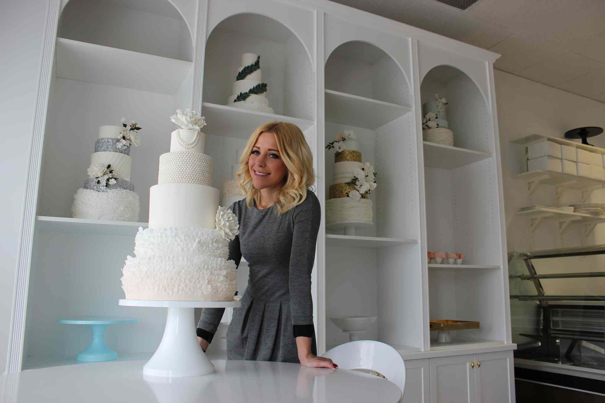 Jenna Illchuk, 25, has opened her own bakery, Jenna Rae Cakes, at 580 Academy Rd. The former dentistry student said she's been dreaming about it for three years.