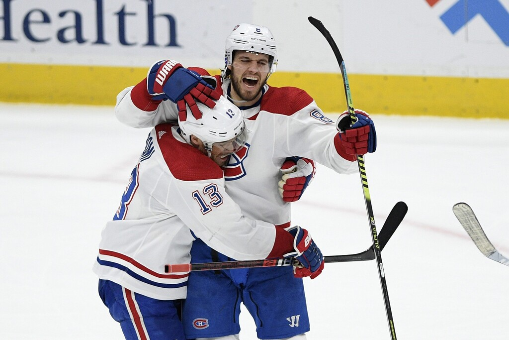 The Winnipeg Jets had to bid adieu to defenceman Ben Chiarot, right, who signed with the Montreal Canadiens in the off-season last year.