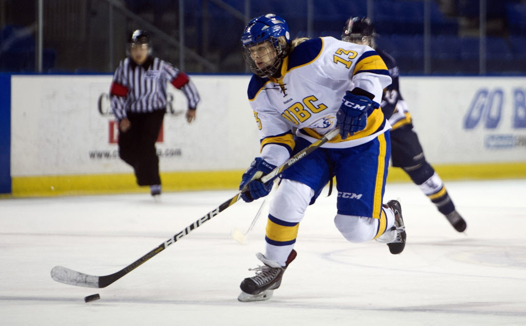 Winnipeg product Tatiana Rafter has been named the Canada West women's hockey player of the year.