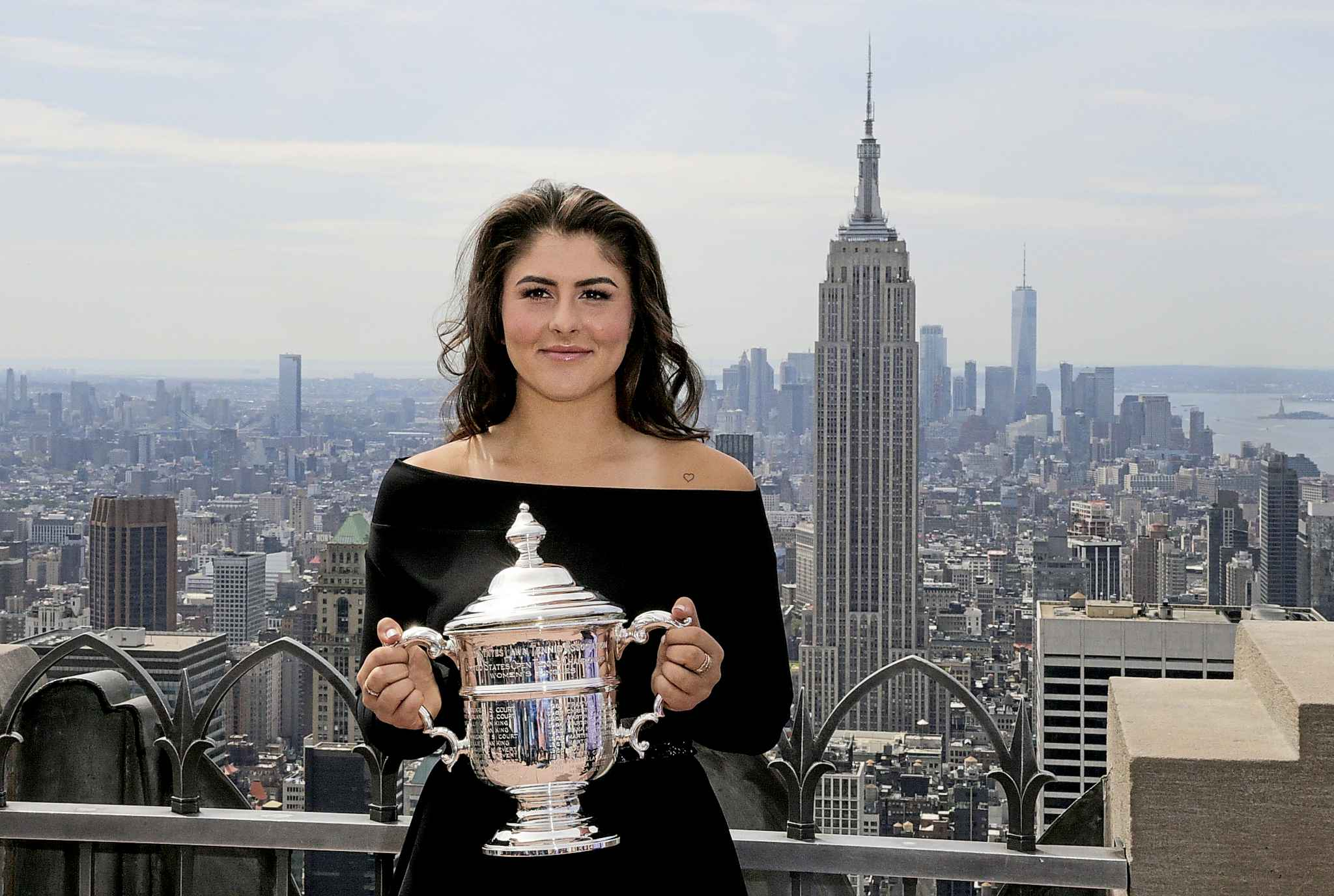 Bianca  Andreescu's triumph gives Canadians a moment to taste the sweet fruits of our country's openness to the world. (Charles Krupa / Associated Press files)