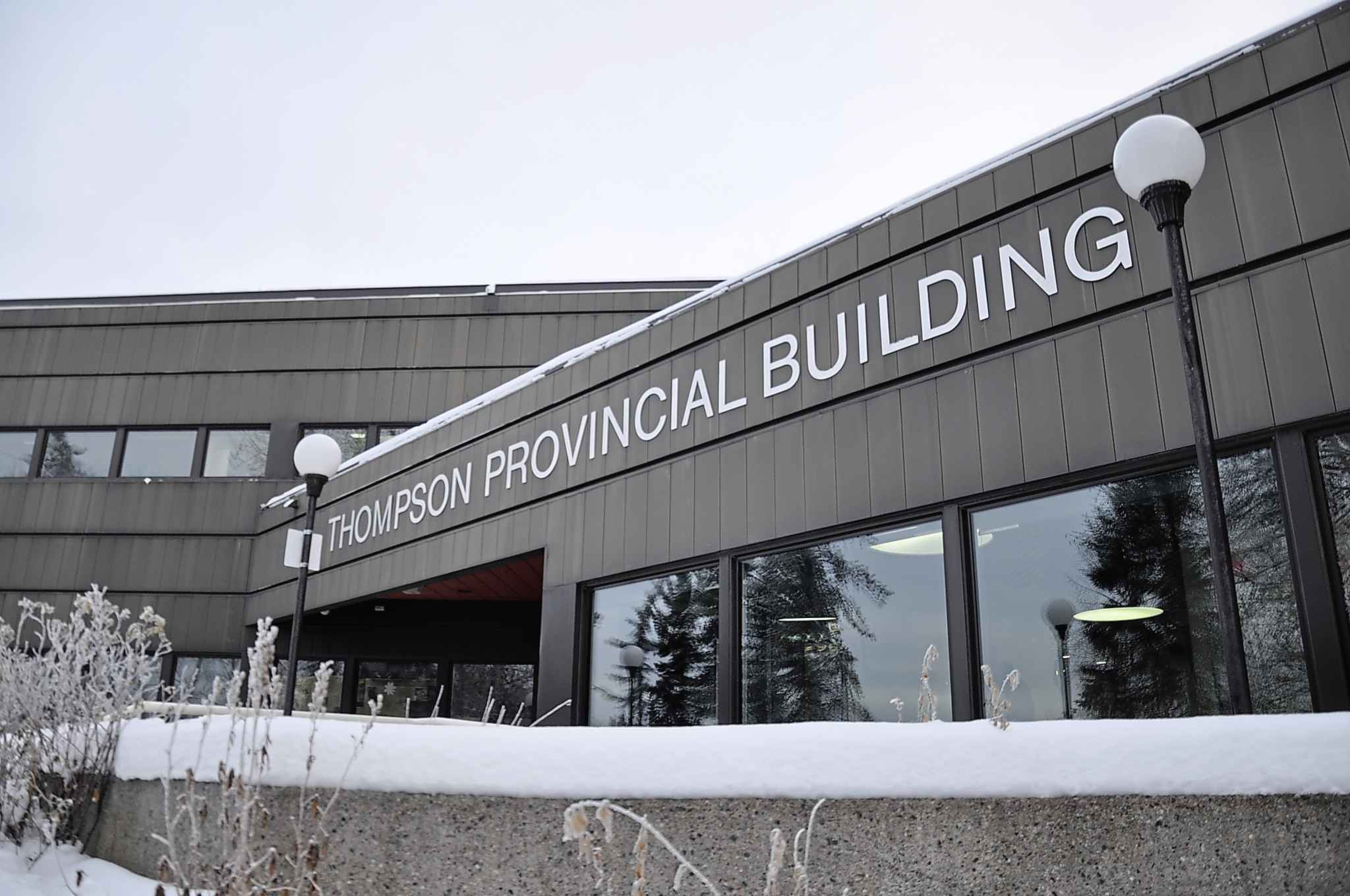 The Thompson provincial building houses Thompson's court which serves at least 13 remote communities.