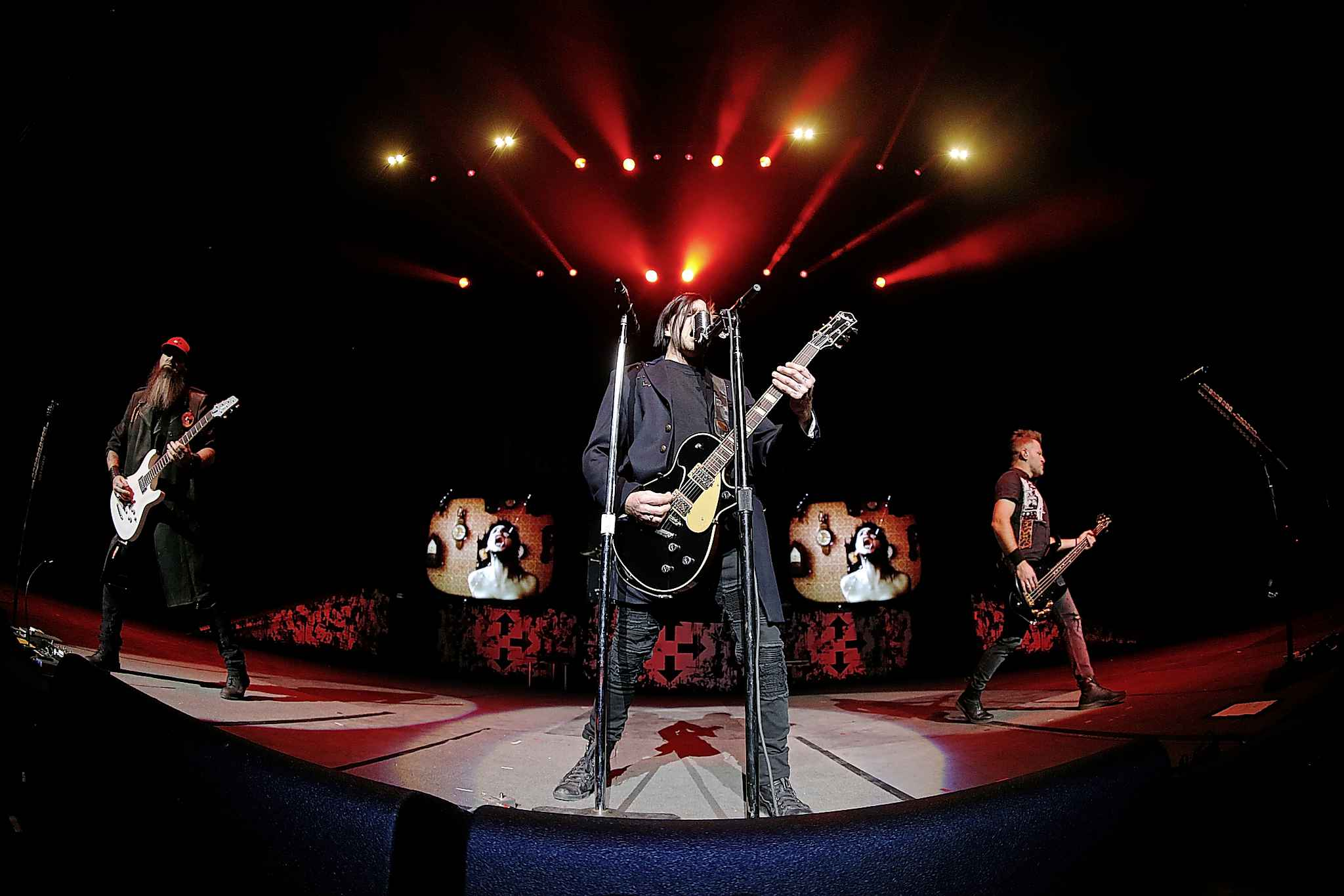 <p>Three Days Grace performed to an enthusiastic audience of 3,200 Tuesday night at Bell MTS Place.</p>