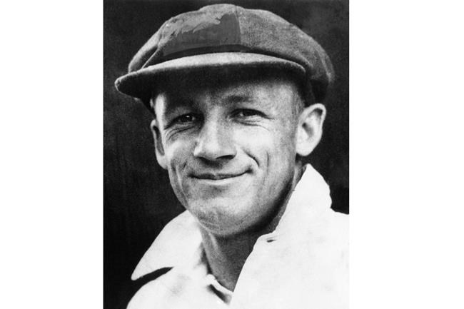 FILE - This Feb. 1938, file photo shows Donald George Bradman, captain of the Australian cricket team to tour England. An Australian businessman has purchased Donald Bradman's first baggy green test cap for 450,000 Australian dollars ($340,000) at auction, the second-highest price paid for a piece of cricket memorabilia. (AP Photo/File)