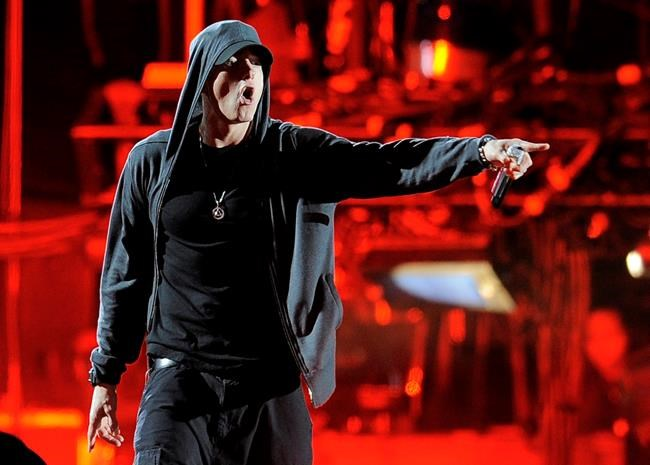 Eminem sues New Zealand political party for using song without permission