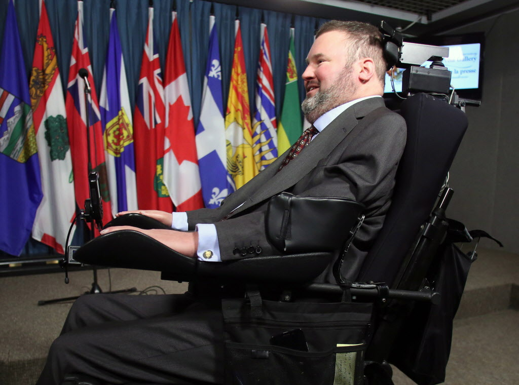 "Conservative MP Steven Fletcher: assisted suicide ""inevitable"" in Canada."