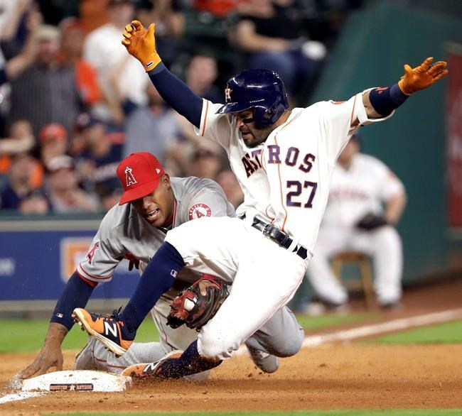 Three-run blast by Pujols helps Angels over Astros, 5-2