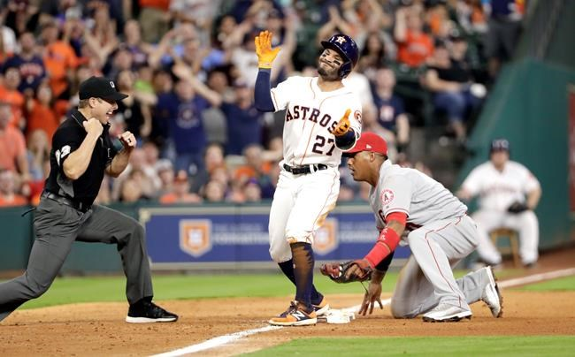 Keuchel, Reddick lead Astros to 5-1 win over Angels