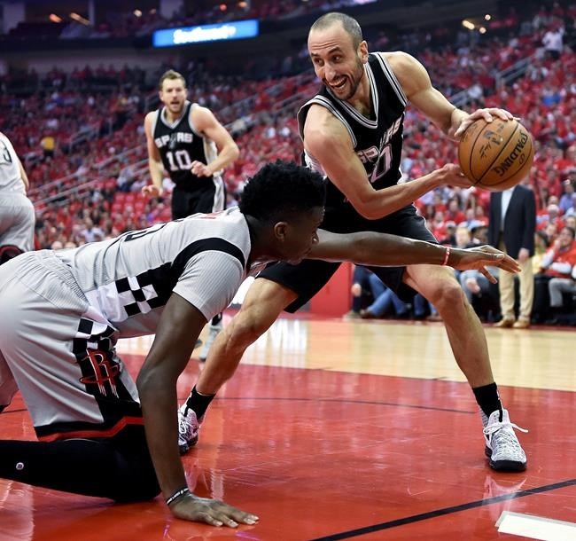 Short-handed Spurs humble Houston to advance to Western Conference finals