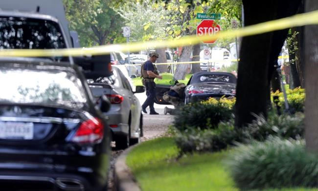 Police ID Houston gunman who wounded 9