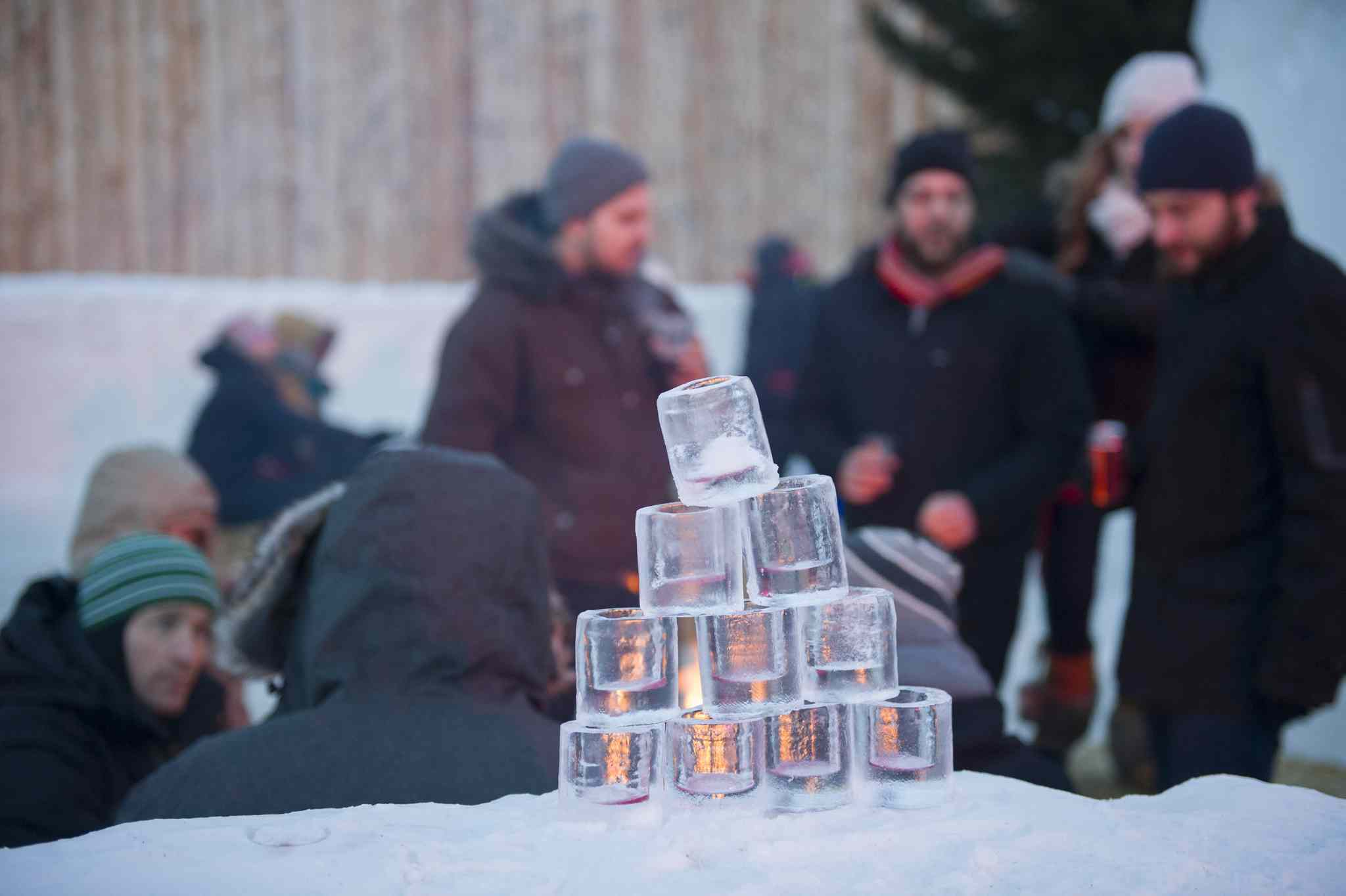 Winnipeg's Festival du Voyageur was a popular place to be Saturday afternoon, as the 10-day celebration of Manitoba's French culture gets ready to wrap up Sunday.