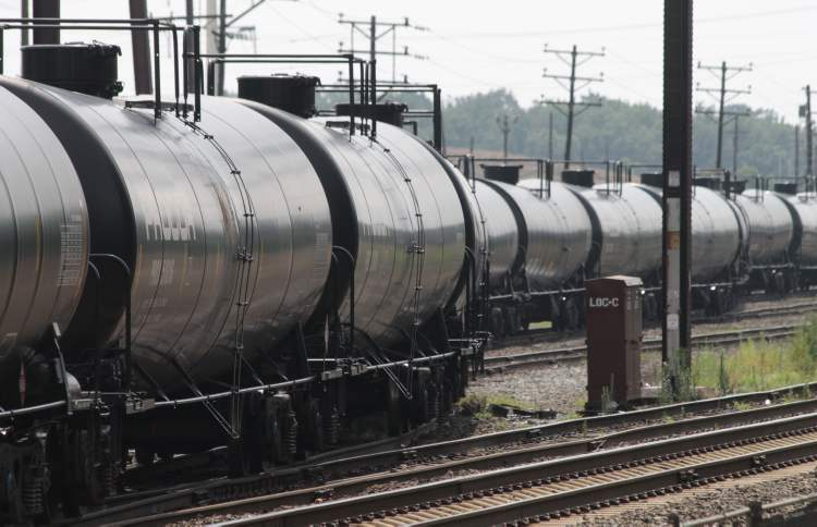 Railroad tank cars could soon be headed to Churchill with cargos of crude oil from the Alberta oilsands. Omnitrax plans a test run this October.