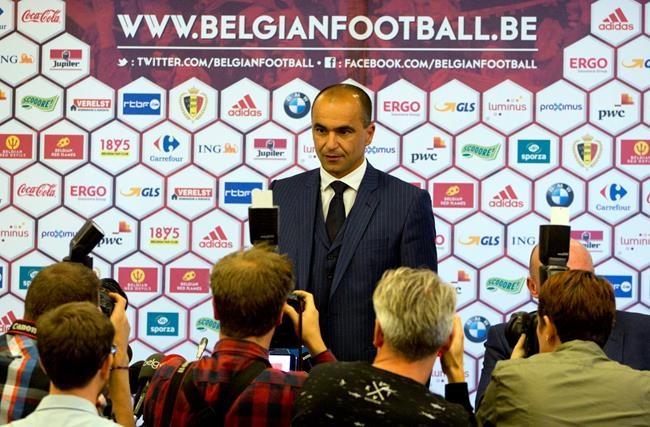 Roberto Martinez named new Belgium manager