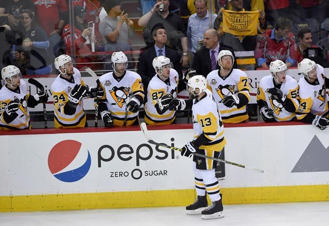 Penguins' Hagelin a game-time decision for Game 2 vs. Caps